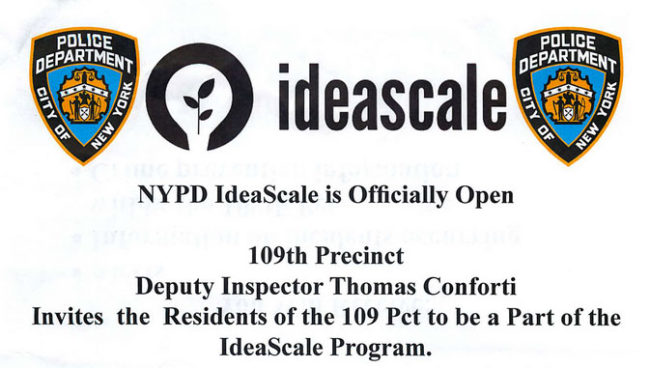 NYPD Ideascale