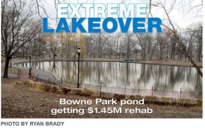 Bowne Park Pond $1.45M Rehab